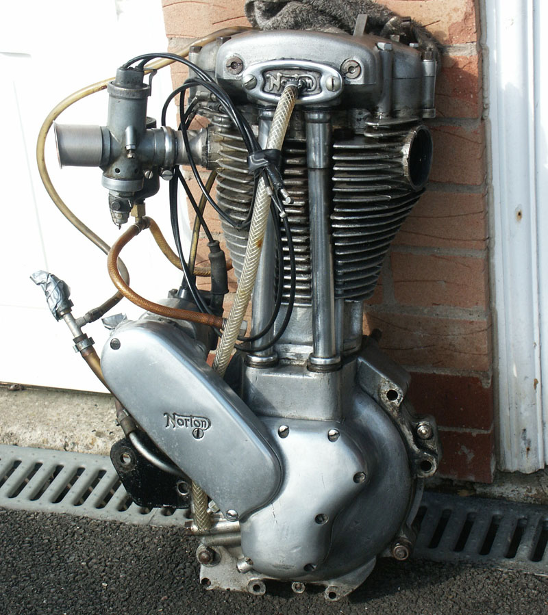Engines And Auto Parts For Sale: Norton 30M, Manx And International Parts For Sale